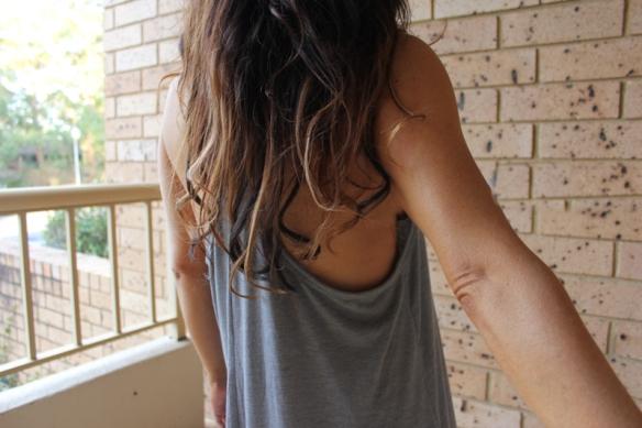 Minx Tan the back